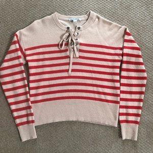 Autumn Cashmere stripe sweater